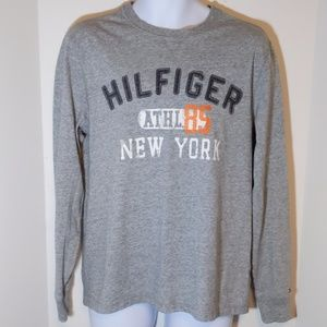Tommy Hilfiger long sleeve gray t-shirt size M